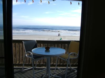 Parrottdice balcony - did we mention we also have an elevator!!