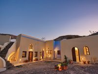 Sun and tranquility in Santorini