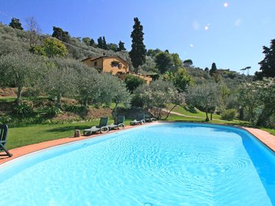 Photo for Il Frantoio - Villa for 9 People, Private pool, sea views, garden with olives