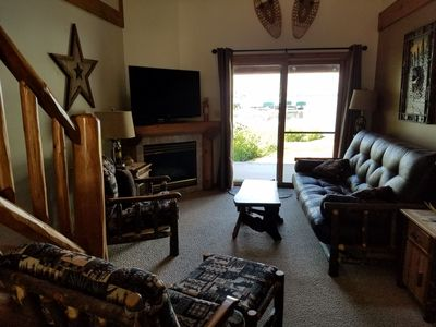 Photo for 2Br condo for all seasons vacationing nearby hiking, biking, snowmobile & skiing