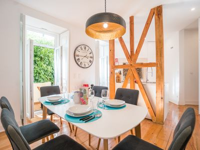 Photo for New flat! With patio and barbecue in Lisbon center