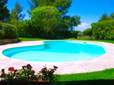 Photo for Villa near Platamona beach, in the green with private pool for 6 people