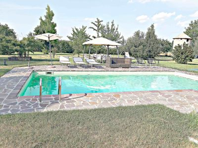 Photo for Villa 220 sqm with swimming pool and 4.000 sqm private park, gym, 2 bathrooms 2 bedrooms