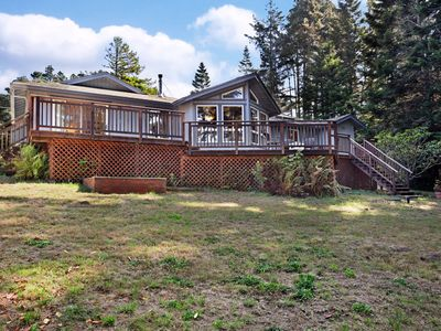 Photo for NEW LISTING! Gorgeous coastal home with spacious decks and amazing views