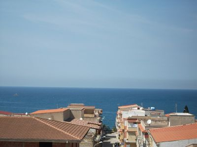 Photo for PENTHOUSE WITH SEA VIEW, 2 BEDROOMS, 1 BATHROOM, 5 BEDS, BEACH 500 mt