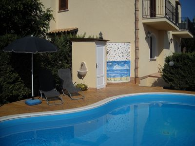 Photo for Holiday House Villa Iride.Pool confidential and free WIFI