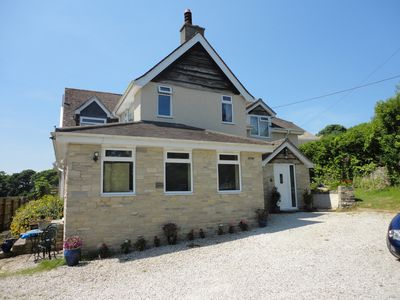 Photo for Four bedroom family home in village the middle of the Purbeck Hills