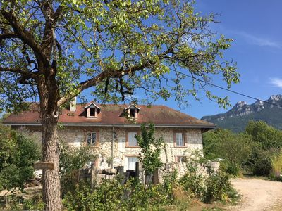 Photo for Old Savoyard farmhouse renovated into a 5-star gîte with modern comfort