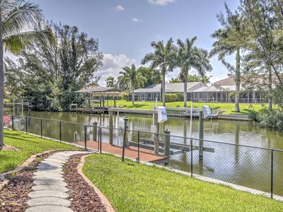 Photo for Canal front Cape Coral House w/Private Pool & Dock