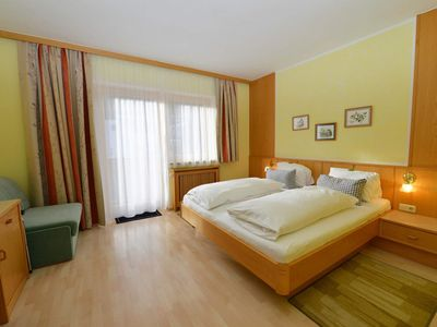 Photo for Double room, shower / WC, balcony, cable TV - Haus Miriam