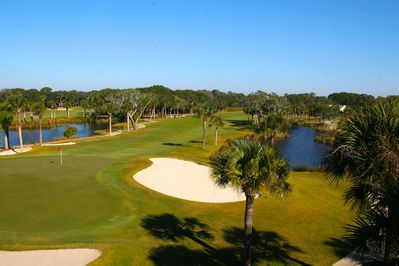 Gorgeous panoramic golf views and one of the best locations on the Island!