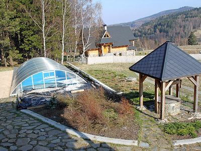 Photo for House in Szczytna with Internet, Pool, Parking, Terrace (129667)