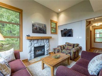 Photo for SKI IN/OUT! Breathtaking Mountain Views! Private Hot Tub!