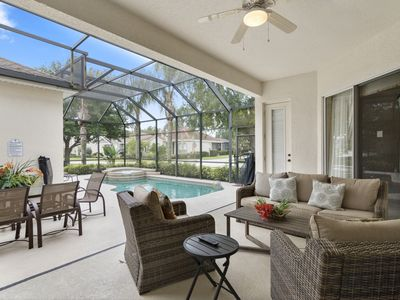 Photo for Reunion Luxury Home, Private Pool/Spa, 6 miles from Disney!