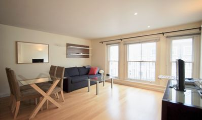 Photo for Spacious Lexham Gardens 8 apartment in Kensington & Chelsea with WiFi & lift.