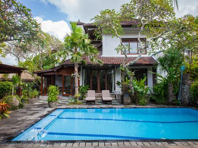 Photo for Spacious 3 bedroom Villa close to the beach, Sanur'