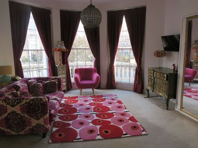 Photo for Boutique Large Studio Flat With Balcony in Central London,Pimlico, Victoria. Near the Kings Road.