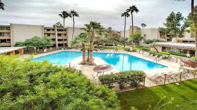 Photo for Best Pool in the Area!- Walk to Everything Old Town! -2 Private Master Suites