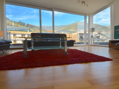 Photo for ARI - two-storied Penthouse in Zell am See center with amazing view on the slopes