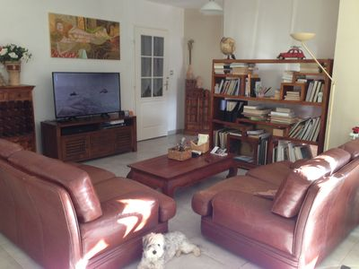 Photo for Villa + pool. 4km from the sea between Narbonne and Perpignan. Quiet neighborhood.