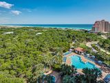 STUNNING CONDO with pool & Gulf View! Steps to the beach!!