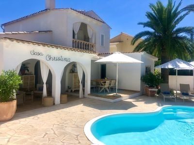 Photo for Casa Christina in a quiet location, well-kept and high quality, WIFI, A / C, heating