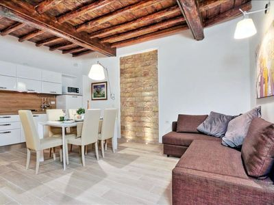 Photo for Chiavari  apartment in Centro Storico with WiFi & integrated air conditioning.