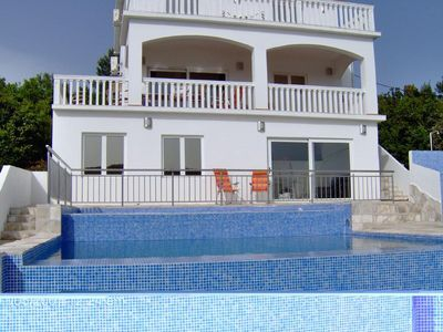 Photo for LARGE LUXURY VILLA WITH PRIVATE POOL, STUNNING SEA VIEWS, WIFI AND SATELLITE TV