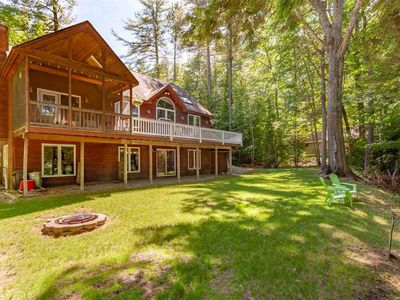 Photo for Riverfront home on the Saco River with a hot tub, close to everything.
