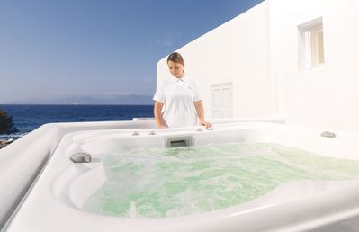 Photo for Luxury Suite with Outdoor Jacuzzi & Partial Sea View
