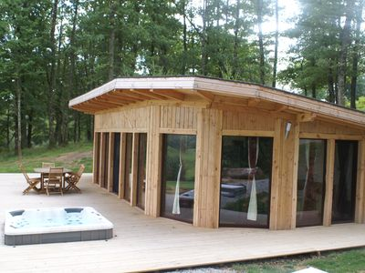Photo for COTTAGE WITH JACUZZI IN NATURE