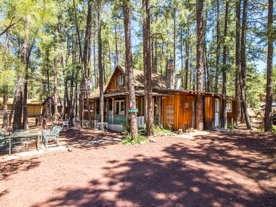 Charming Cozy Uniquely Furnished Rustic Cabin Steps to Forest Trails