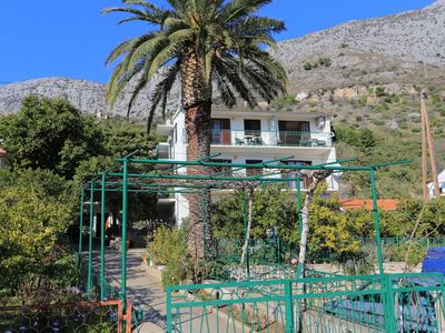 Photo for One bedroom apartment with balcony and sea view Podaca, Makarska (A-11588-b)