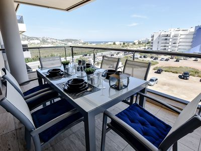 Photo for TALAMANCA SEA VIEW APARTMENT