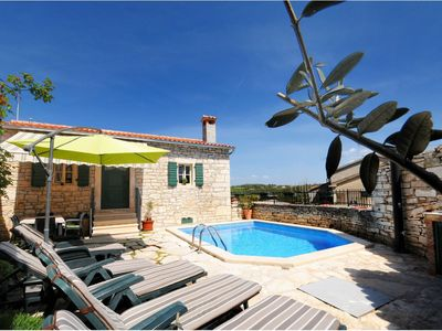 Photo for Lovely stone house with private swimming  pool !
