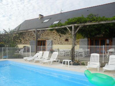 Photo for House in the countryside with heated pool (16/22 pers)