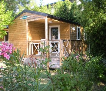 Photo for Camping Lou Pantaï *** - Lodge 3 Rooms 5 People Comfort