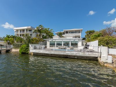 """Photo for """"DOCKTALES & COCKTAILS"""" ~ 3 Bed, 2.5 Bath Waterfront Home with Dockage!"""