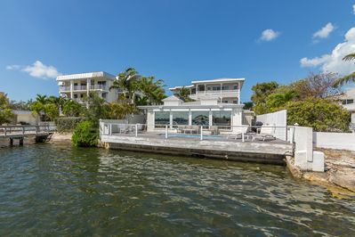 Waterfront home with boat dockage!