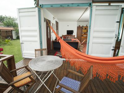 Photo for Container house in Juquehy - 2 suites with comfort