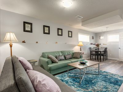 Photo for Bright Private 2BR Suite close to the Airport