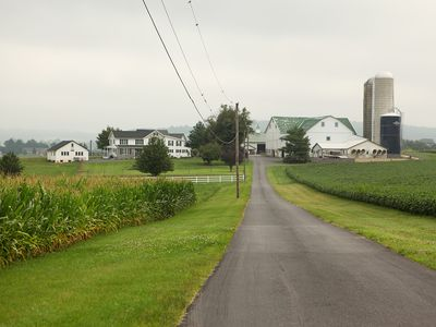 Buena Hill Homestead is a newly renovated private apartment in lancaster county