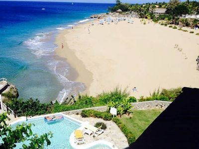 Sosua's best beach Penthouse with pool only steps from center