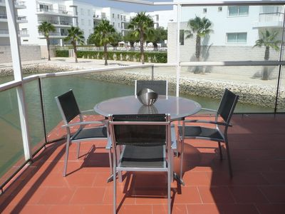 Photo for Ground floor apartment with personal wifi, situated on Lagos Marina