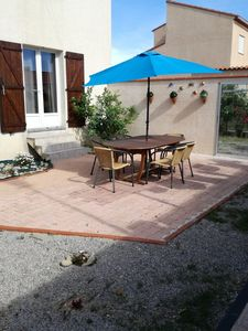 Photo for Recent house, spacious and quiet, for 6/8 people to 350 m. from the beach .