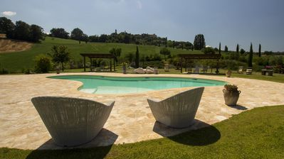 Photo for Merlini Villa, Sleeps 21 with Pool, Air Con and WiFi