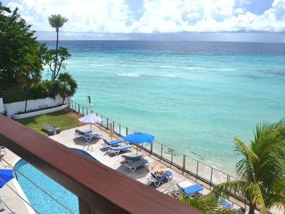 Photo for Sublime Turquoise Ocean Views From ALMOST HEAVEN Al-Fresco patio and Master bed.