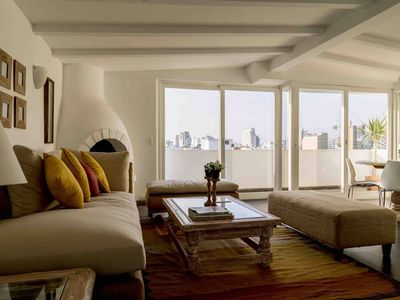 Photo for 3bdr Apartment w/stunning views in Miraflores