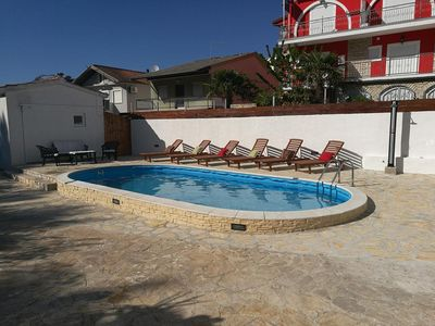 Photo for Two bedroom apartment with terrace Vodice (A-4231-a)