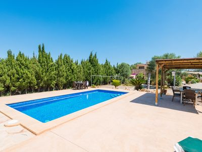 Photo for SON PIRIS - Villa with private pool in Es Llombards.